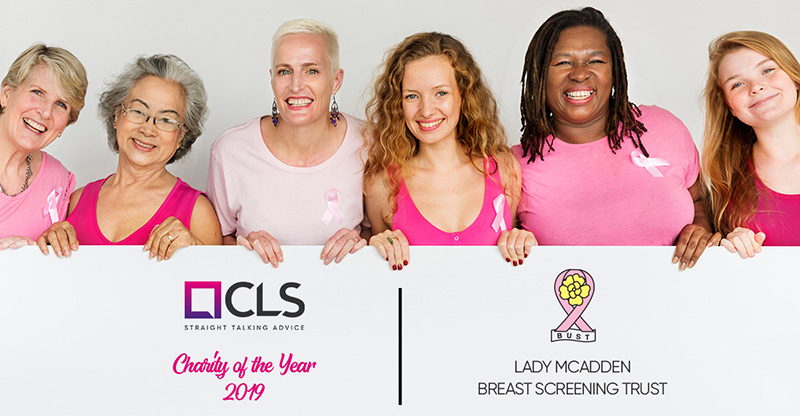 CLS Money partners with Lady McAdden Breast Screening Trust